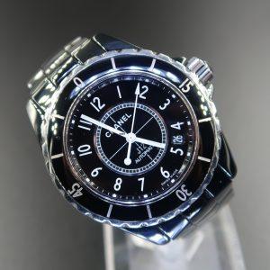Chanel J12 Black Ceramic H0685(Pre Owned)CN-004