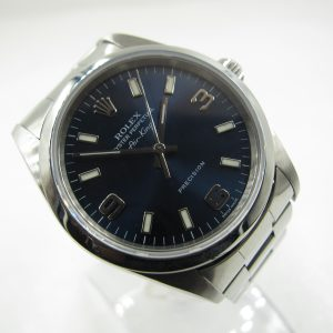 Rolex Air King 14000 Blue Dial(Pre-Owned Rolex Watch)RL-212