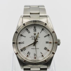 Rolex Stainless Steel Airking 14010(Pre-Owned Rolex Watch)RL-123