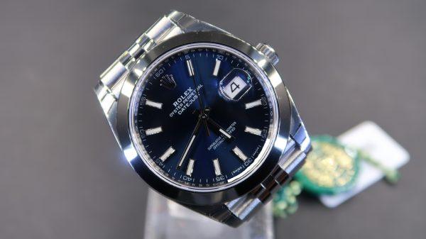 Rolex Datejust 2 41 126300 Blue Dial (New)RL-483 (Cash Price)