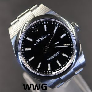 Rolex Oyster Perpetual 39 114300 Black Dial(New Rolex Watch)RL-570 (Cash Price)