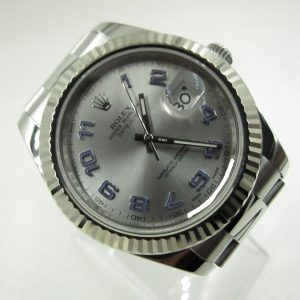 Rolex Oyster Perpetual Datejust 116334 Silver Dial(Pre-Owned Rolex Watch)RL-291