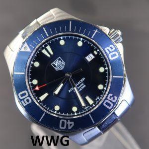 Tag Heuer Aquaracer 2000 WAB2011.BA0803 Blue Dial (Pre Owned)TH-042
