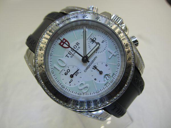 Tudor Chronograph Diamond Bezel (Unworn) TU-001