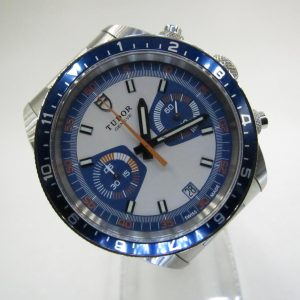 Tudor Heritage Chrono Blue 70330B(Pre Owned)TU-010