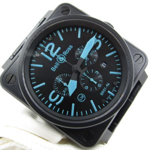 Bell & Ross BR01-94SBlu (Pre Owned)BR-012