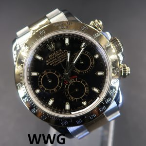 Rolex Daytona Cosmograph 116523 Black Dial(Pre Owned Rolex Watch)RL-611