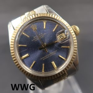 Rolex Datejust 6827 Blue Dial (Pre Owned Rolex Watch)RL-110