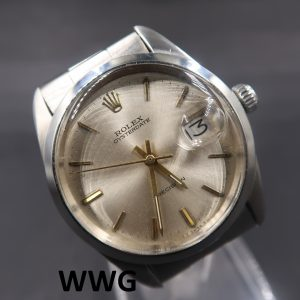 Rolex OysterDate Precision 6694 Silver Dial (Pre-Owned Rolex Watch) RL-623