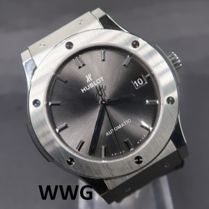 Hublot Classic Fusion Racing 511.NX.7071.LR Grey Dial (Pre OwnedWatch)HB-011