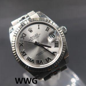Rolex Datejust 31 178274 Rhodium Dial (New Rolex Watch) RL-635 (Cash Price)
