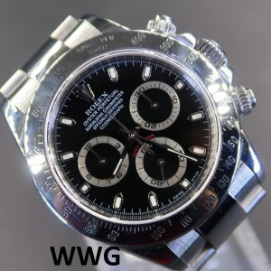 Rolex Daytona Cosmograph 116520 Black Dial(Pre-Owned Rolex Watch)RL-450