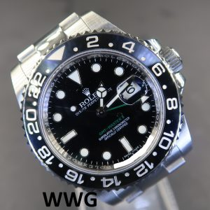 Rolex GMT Master II 116710LN(Pre Owned Rolex Watch)RL-592 (Cash Price)