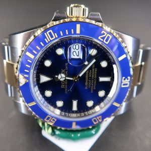 Rolex Submariner Date 116613LB Blue Dial (New Rolex Watch)RL-664 (Cash Price)