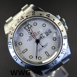 Rolex Explorer 2 16570 White Dial 3186 Movement(Pre-Owned Rolex Watch) RL-600