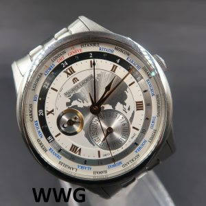 Maurice Lacroix Masterpiece Worldtimer MP6008 (Pre Owned Watch)ML-006